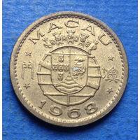 Макао Португальская колония 10 авос 1968