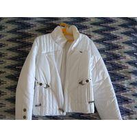 Куртка женская белая