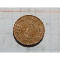 Сьерра-Леоне 1/2 цента 1964