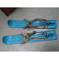 Лыжи для малыша советские, 40 см