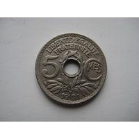 ФРАНЦИЯ  5 САНТИМОВ  1931 ГОД