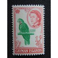 Британские Каймановы острова 1962 г.