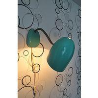 Настольная-настенная металлическая лампа (СССР)