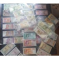 39 банкнот мира UNC