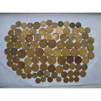 Сборный лот монет 97 шт               (4681)