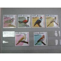 Марки - фауна, птицы, Гвинея-Бисау
