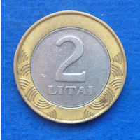 Литва 2 лита 2001
