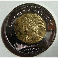Резервация Лос Койотес 5 долларов 2011 г