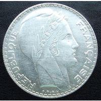 Франция. 10 франков 1931 Серебро