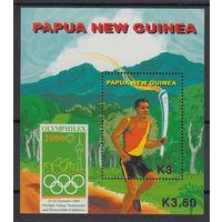 Папуа Новая Гвинея Олимпиада 2000г.