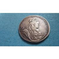 Рубль 1738 г. СПБ  Анна Иоановна. Российская империя. Серебро