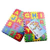 Детский игровой коврик-пазл