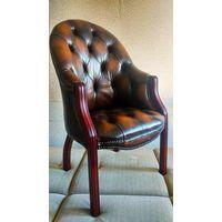 Английское кабинетное кресло Честерфилд