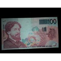 Бельгия. 100 франков 1995г. UNC