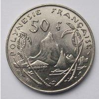 Французская Полинезия 50 франков 1975