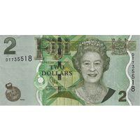 Фиджи 2 доллара 2011 (ПРЕСС)