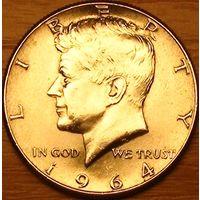 1/2 доллара 1964г. Джон Кеннеди.