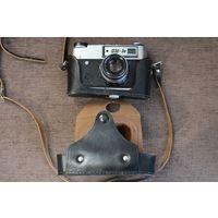 Фотоаппарат ФЭД-5В, чехол чёрного цвета