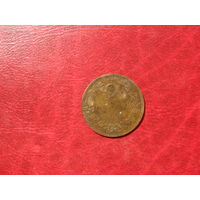 2 стотинки 1901 года Болгария