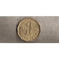 Уругвай 1 песо(новый большой) 1976//(Li)
