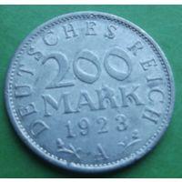 Германия. 200 марок 1923. Много лотов в продаже.