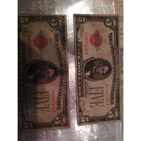 5$США 1928 года