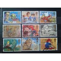 Англия 1994 Персонажи детских книг Михель-13,5 евро гаш