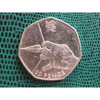 50 пенсов, Великобритания, 2011, Стрельба из лука