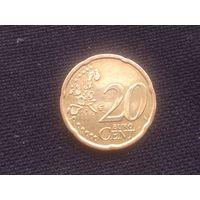 20 центов АВСТРИЯ 2005 год