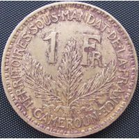 1к Камерун 1 франк 1926 В ХОЛДЕРЕ распродажа коллекции
