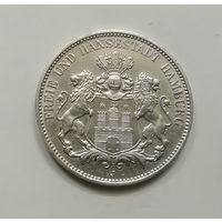 Германия Гамбург 3 марок 1913 г