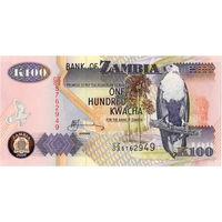 Замбия, 100 квача, 2009 г., UNC