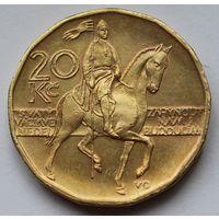 Чехия 20 крон, 2004 г.