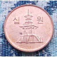 Южная Корея 10 вон 2008 года. Инвестируй в коллекционирование!