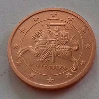 2 евроцента, Литва 2017 г., AU