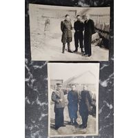 Два фото военных. 1950-е. 8.5х13 см. Цена за оба.