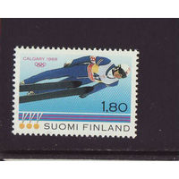 Финляндия зимняя олимпиада 1988г.