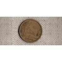 Уругвай 1 песо(мулита) 2011/фауна(Ab*)