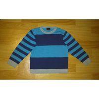 Пуловер фирменный на мальчика 4-5 лет