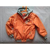 Ветровка Kiko для мальчика, на флисе, куртка