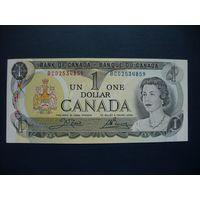 Канада, 1 доллар 1973 год,   - ТОРГ по МНОГИМ Лотам !!! -