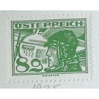 Пилот биплана Ханс Бранденбург. Австрия. Дата выпуска:1925-08-01