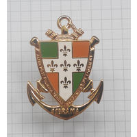 Франция, знак 11 колониального артиллерийского полка морской пехоты